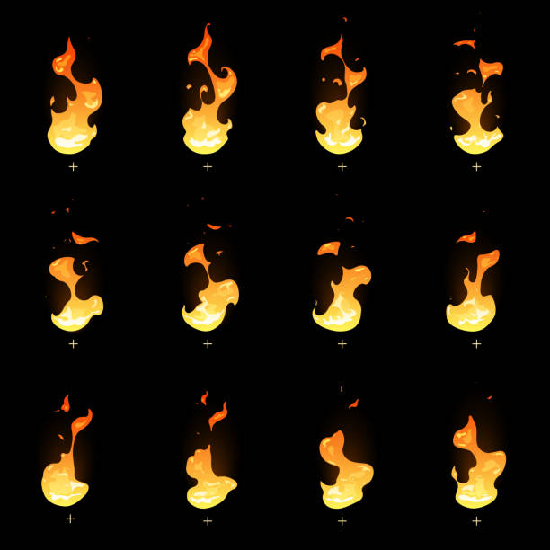 Attractive Fire Animation Frames Component - Ideas de Marcos ...