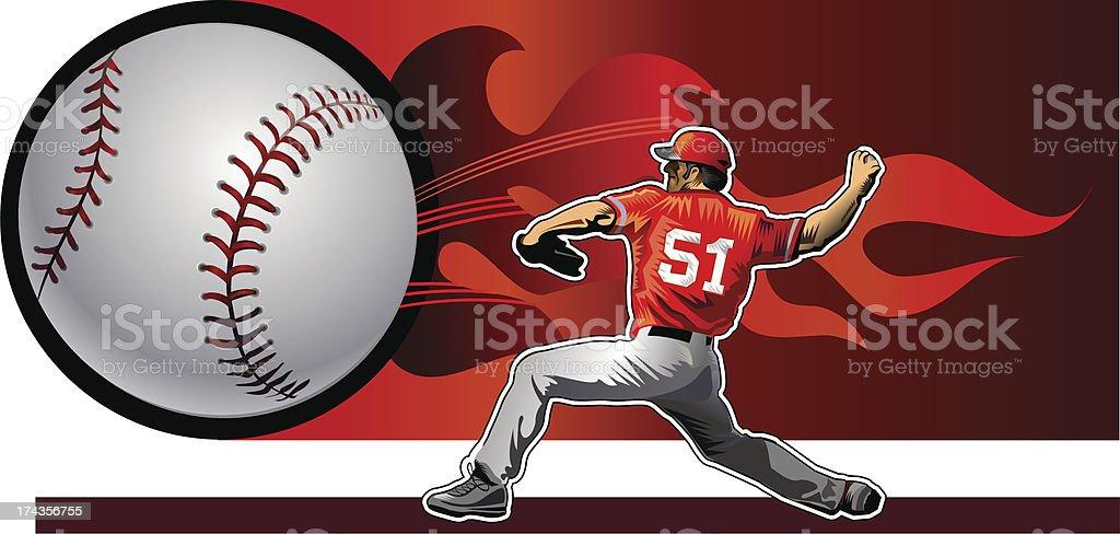 fireball royalty-free stock vector art