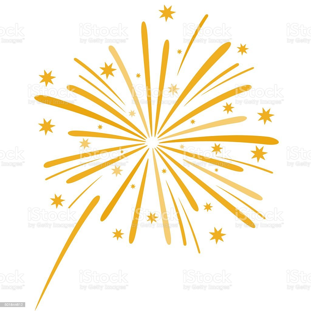 Firework illustration vector art illustration