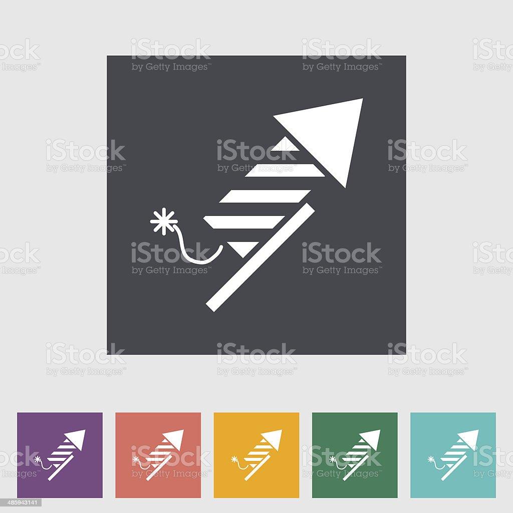 Firework royalty-free stock vector art