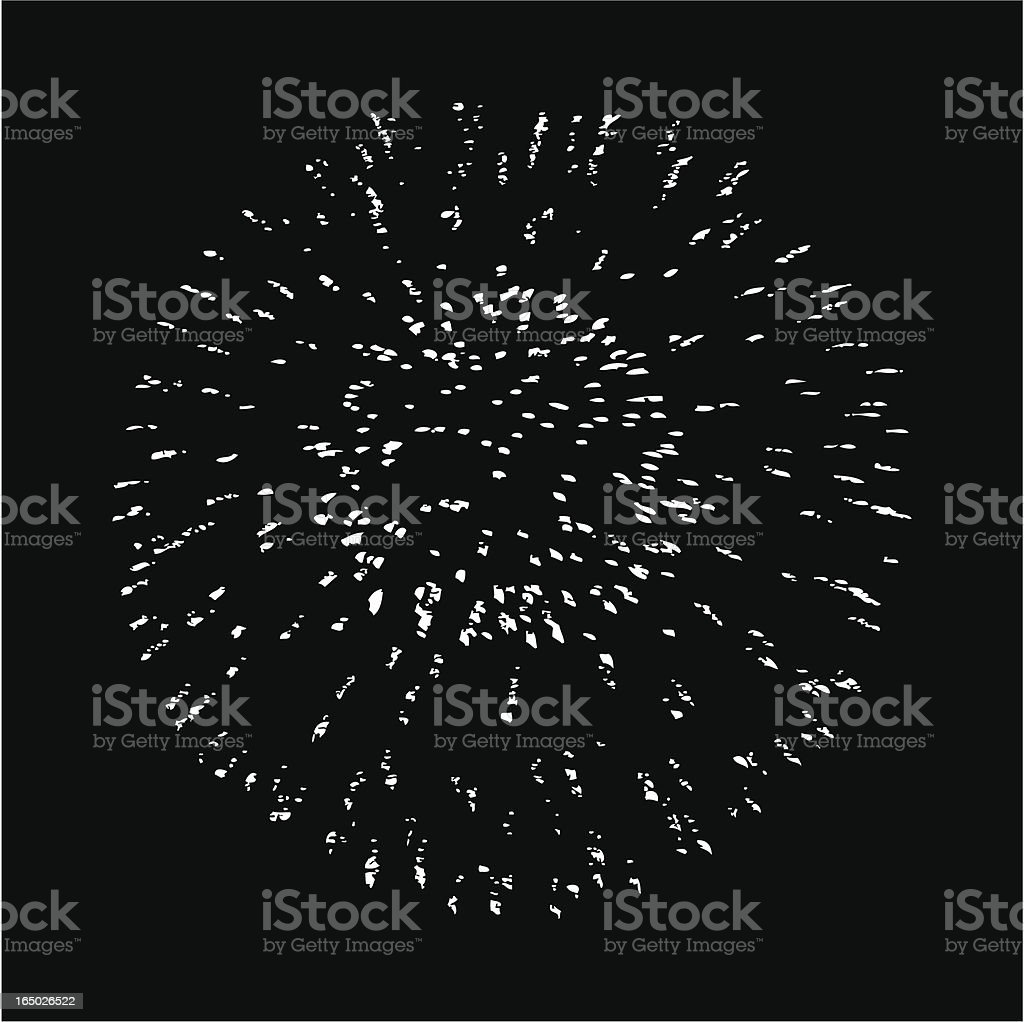 Firework-Vector royalty-free stock vector art