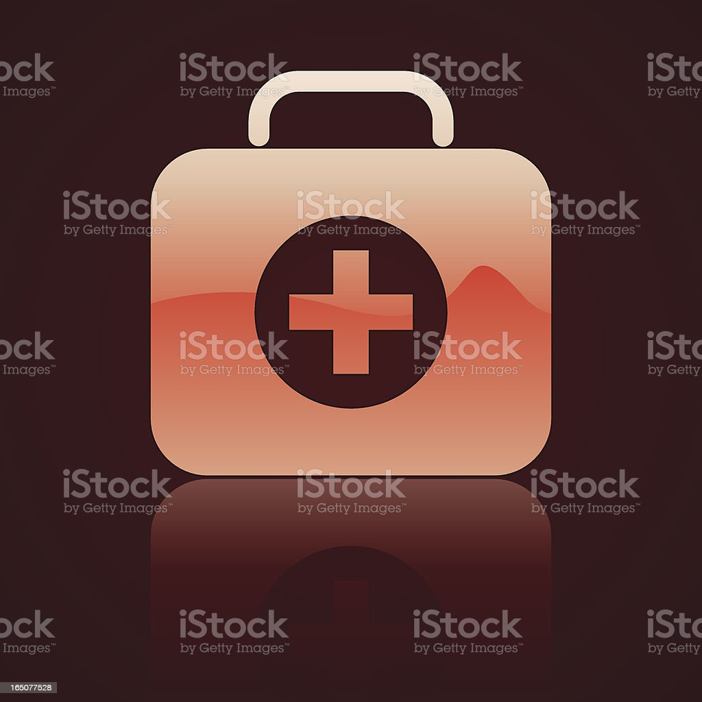 First Aid Icon royalty-free stock vector art
