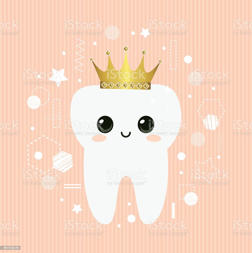 Baby First Tooth Decoration