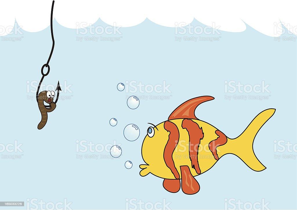 Fish & Bait - incl. jpeg royalty-free stock vector art