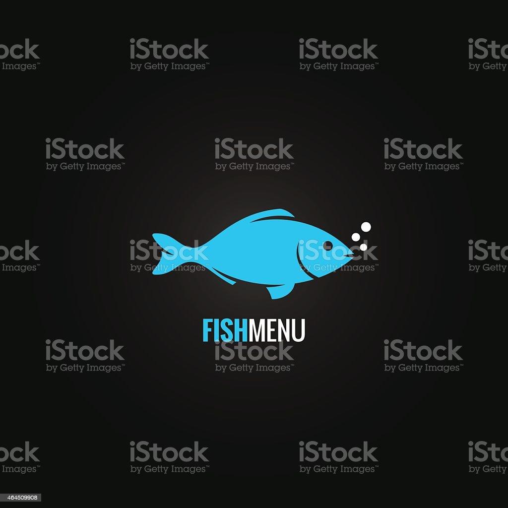 fish design background vector art illustration