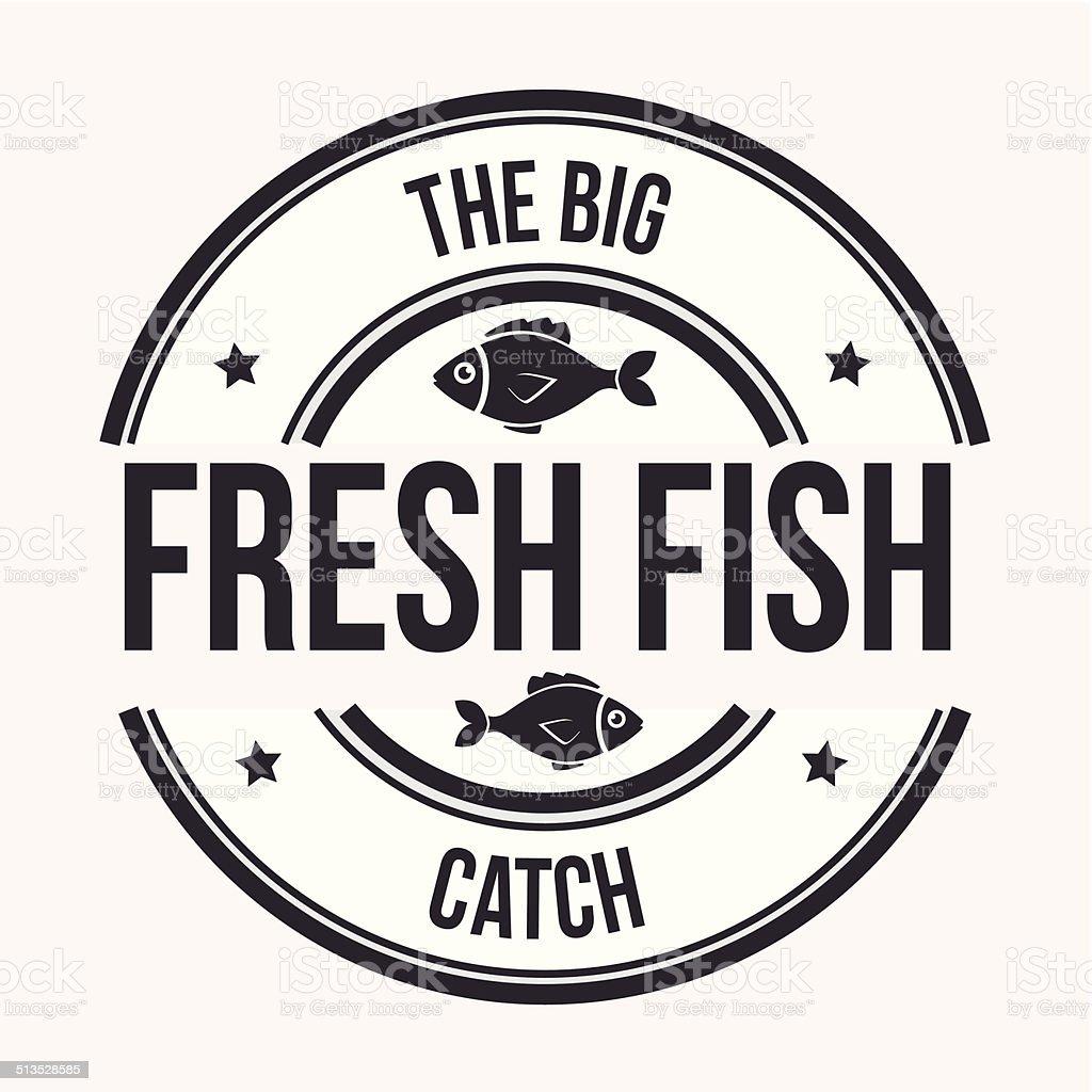 Fish design vector art illustration