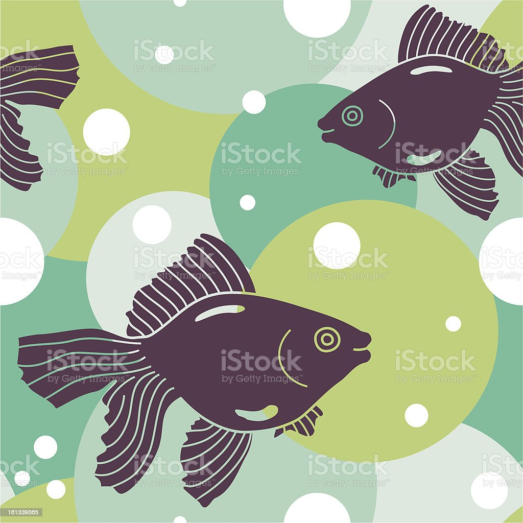 fish pattern royalty-free stock vector art
