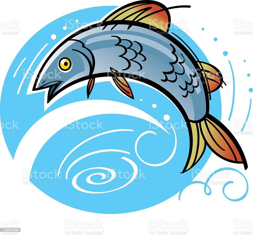 Fish royalty-free stock vector art