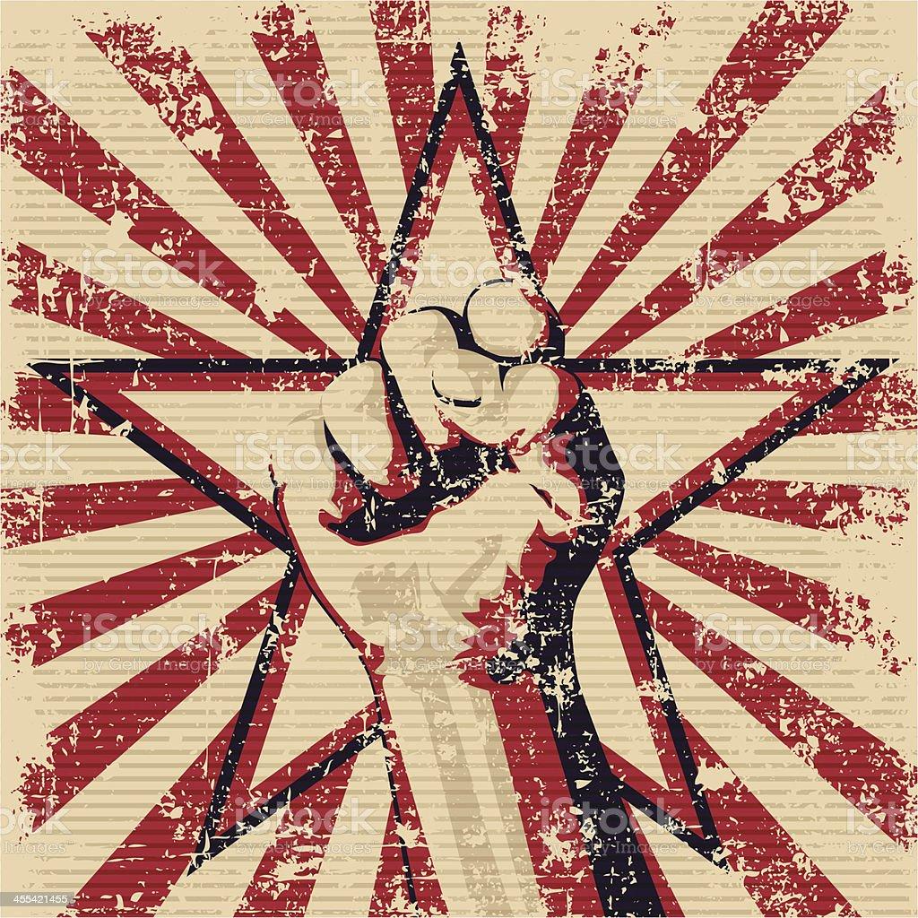 fist royalty-free stock vector art