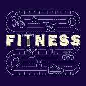 Fitness banner for gym