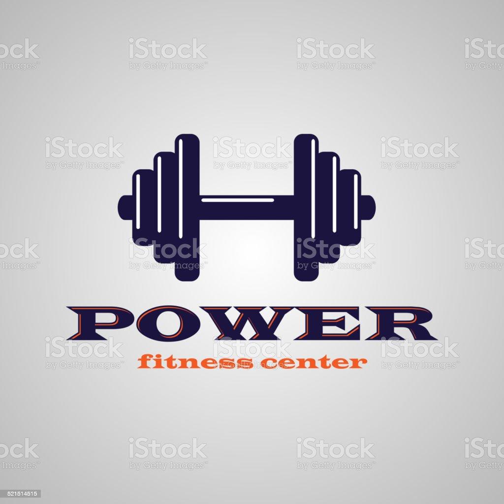 Fitness center vector art illustration