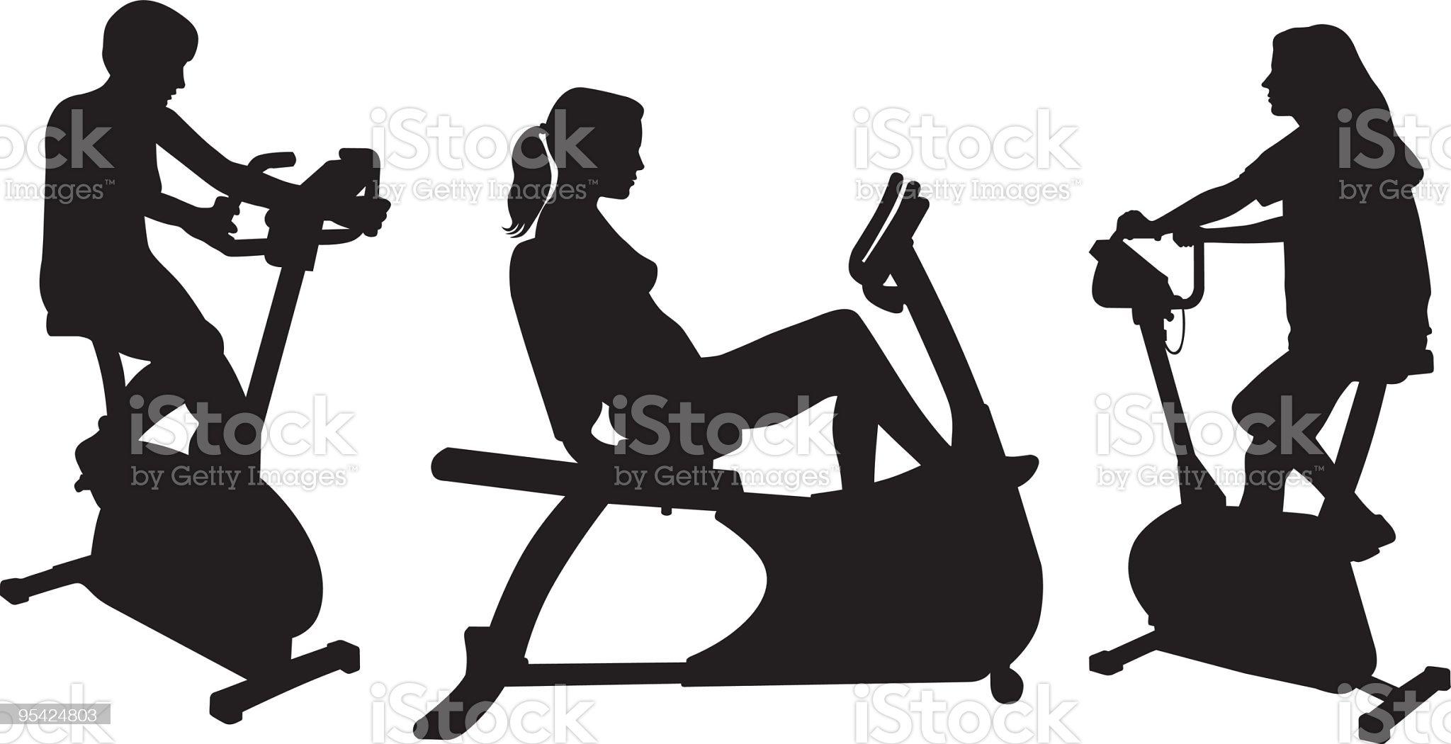 Fitness royalty-free stock vector art