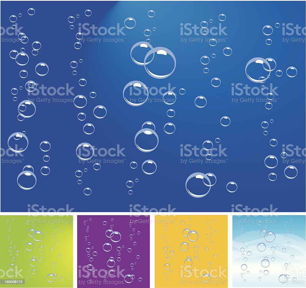 Fizzy and Bubbly royalty-free stock vector art