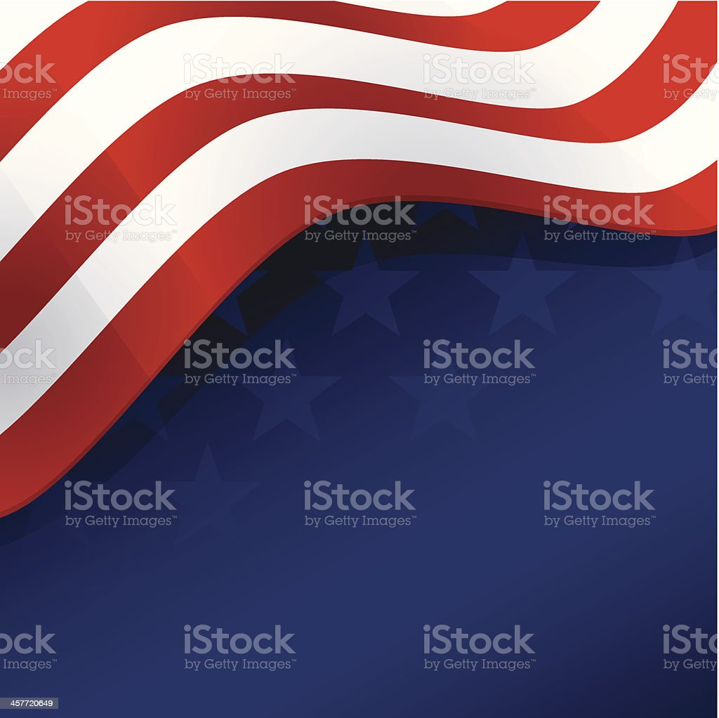 Flag Background royalty-free stock vector art