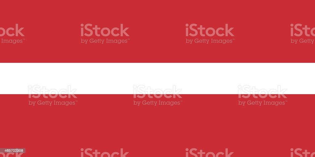 Flag Latvia vector art illustration