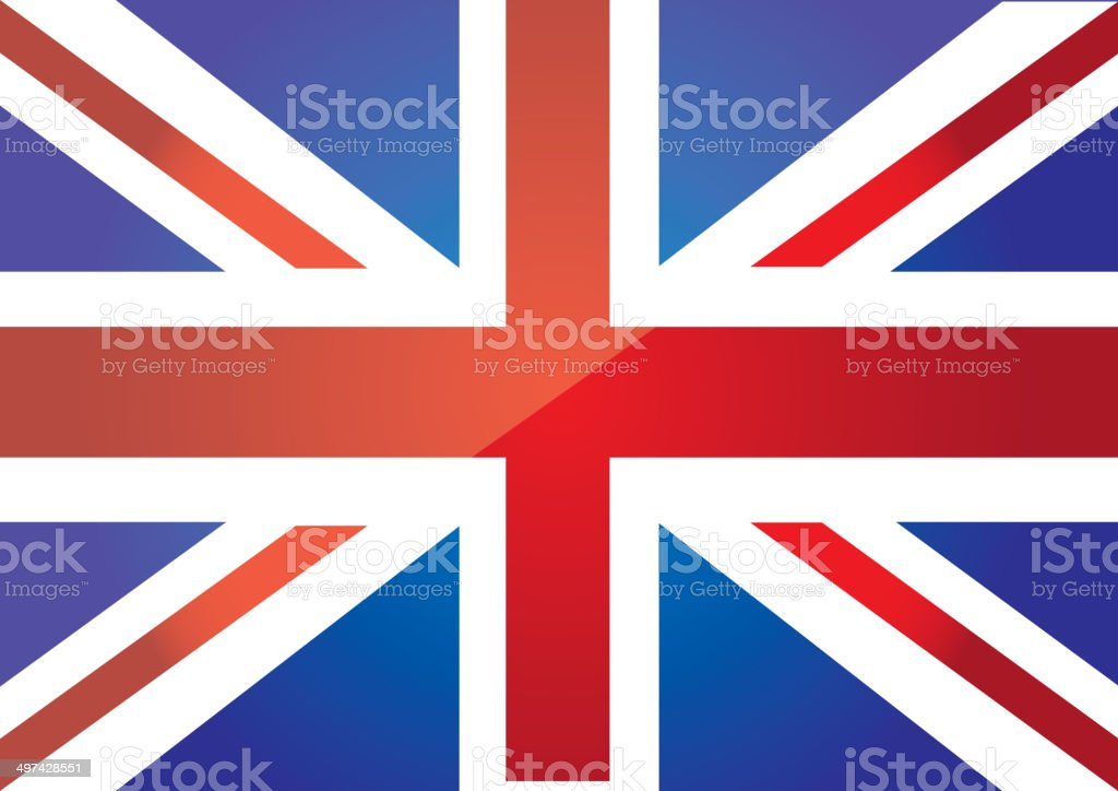 flag london vector art illustration