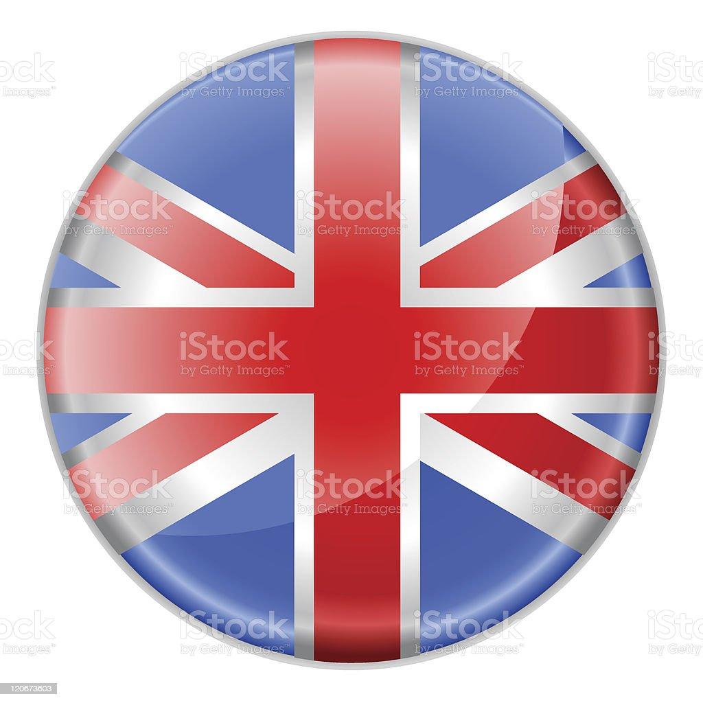 flag of England royalty-free stock vector art