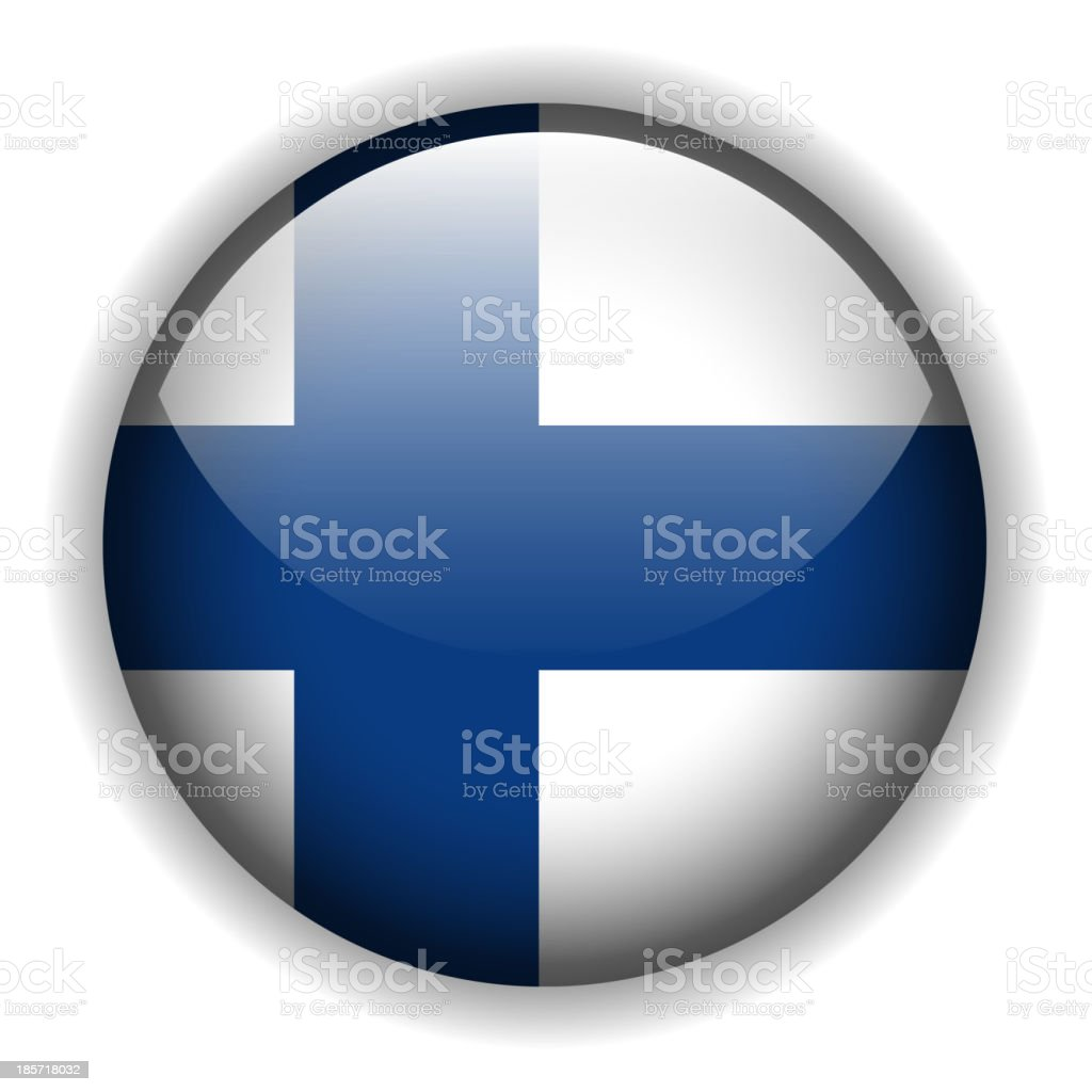 flag of Finland royalty-free stock vector art