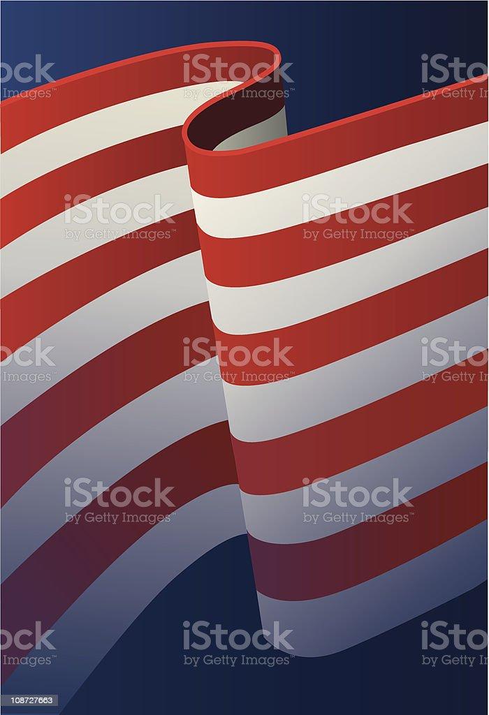 U.S. Flag stripes background royalty-free stock vector art