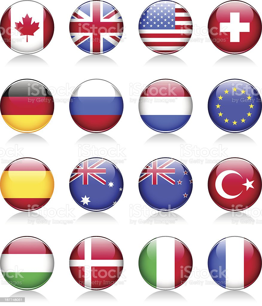 Flag symbols royalty-free stock vector art