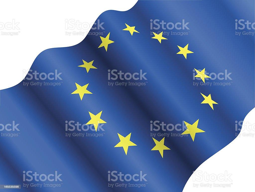 EU Flag royalty-free stock vector art