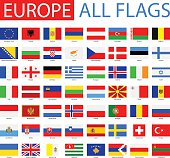 Flags of Europe - Full Vector Collection