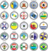 Flags of the Brazilian cities