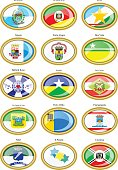 Flags of the Brazilian states and cities