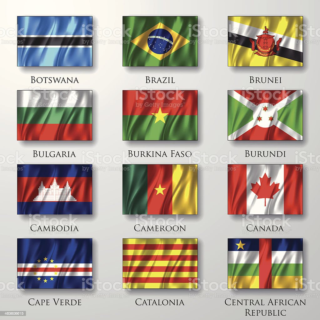 Flags. royalty-free stock vector art