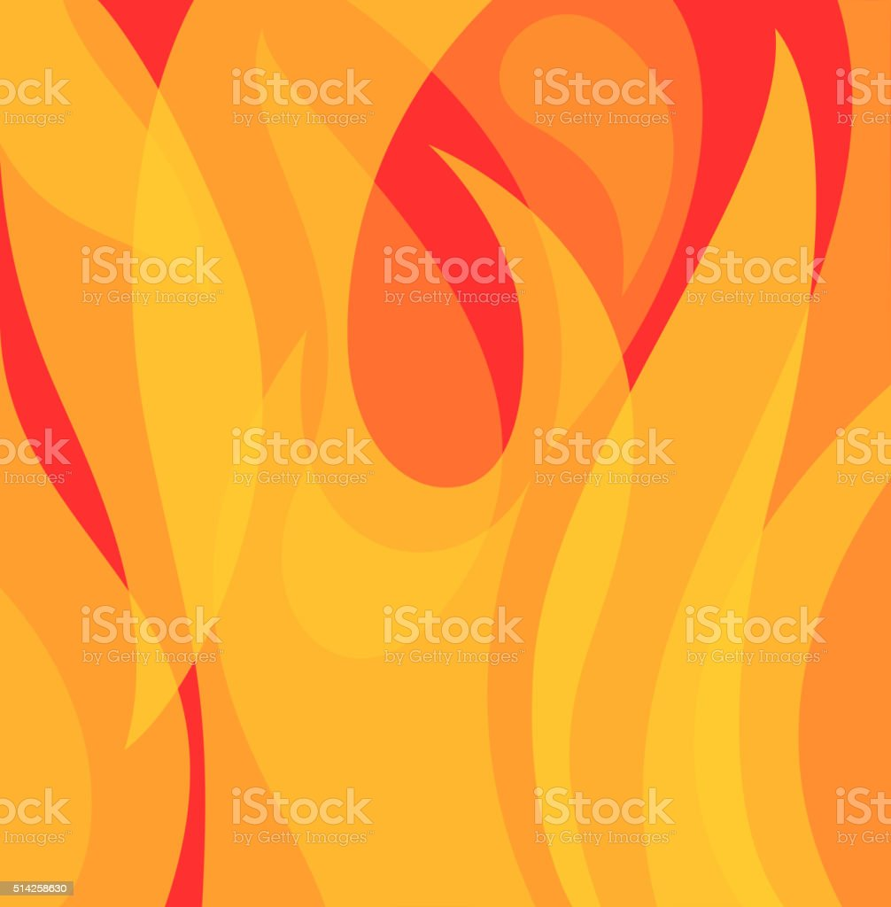 flame bg vector art illustration