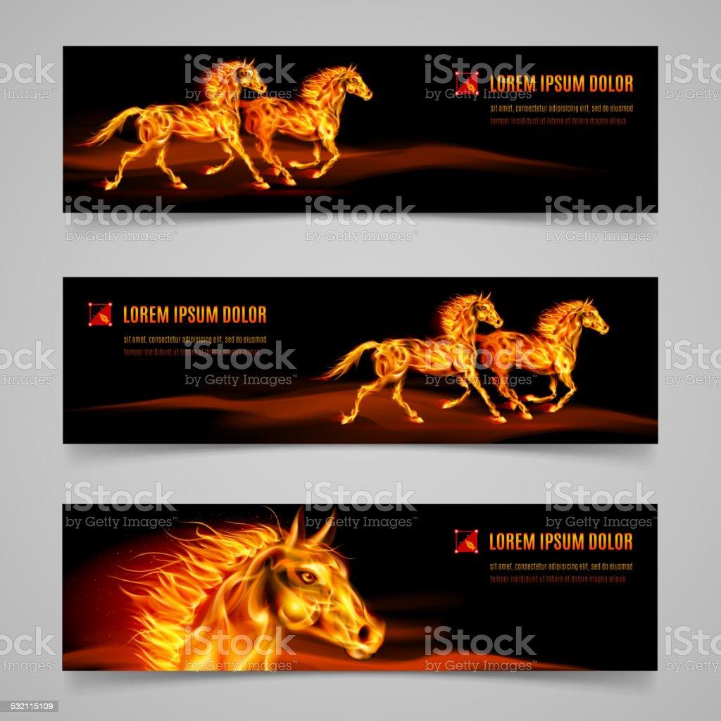 Flaming speed vector art illustration