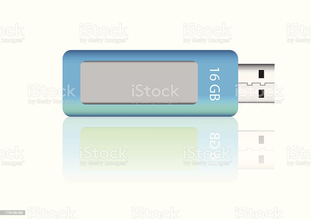 UBS flash drive vector images royalty-free stock vector art