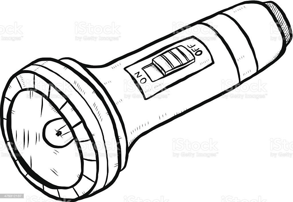 Taschenlampe clipart  Taschenlampe Comic Vektor Illustration 475312137 | iStock
