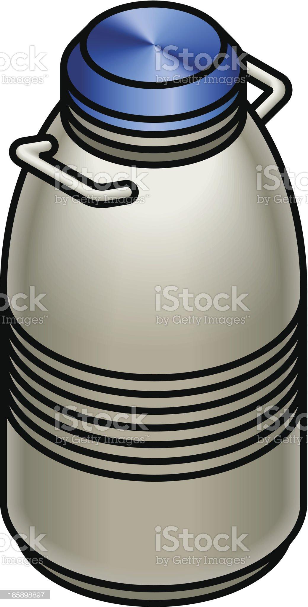 Flask royalty-free stock vector art