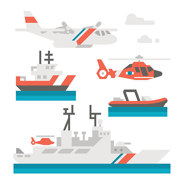 Us Coast Guard Clip Art, Vector Images & Illustrations - iStock