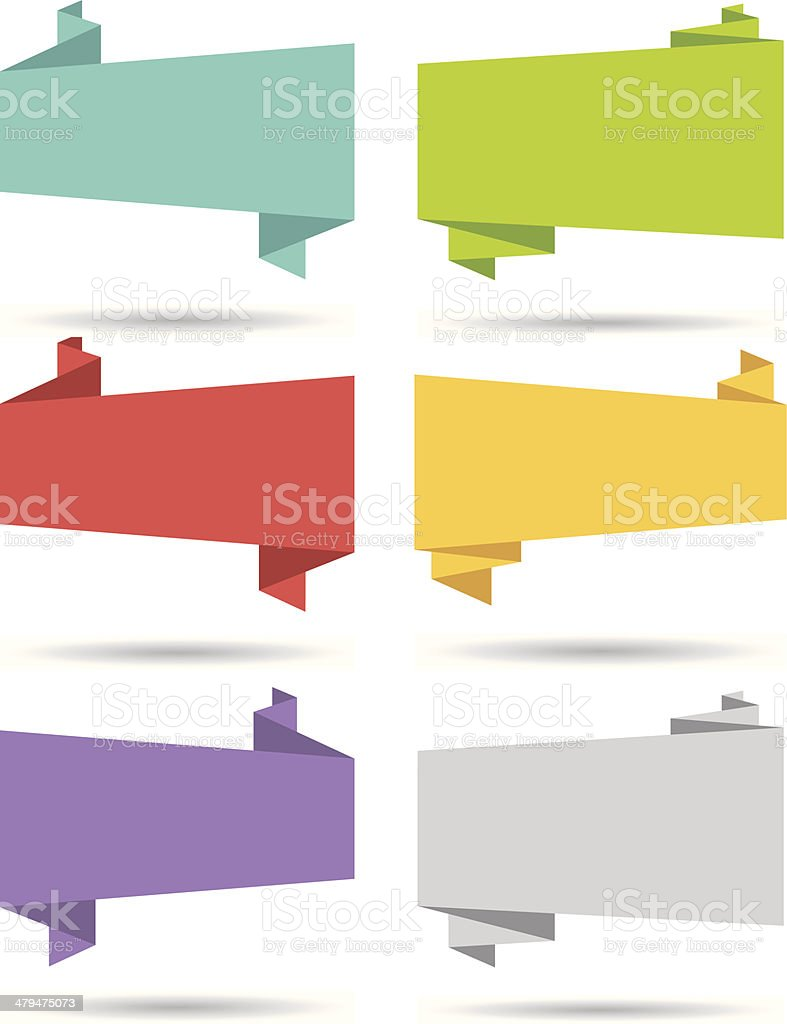 Flat design UI web page elements. vector art illustration