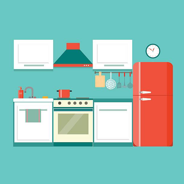 Kitchen Clip Art, Vector Images & Illustrations