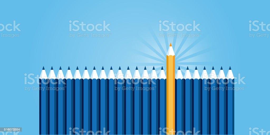Plano de diseño web de bandera de cualificación profesional illustracion libre de derechos libre de derechos