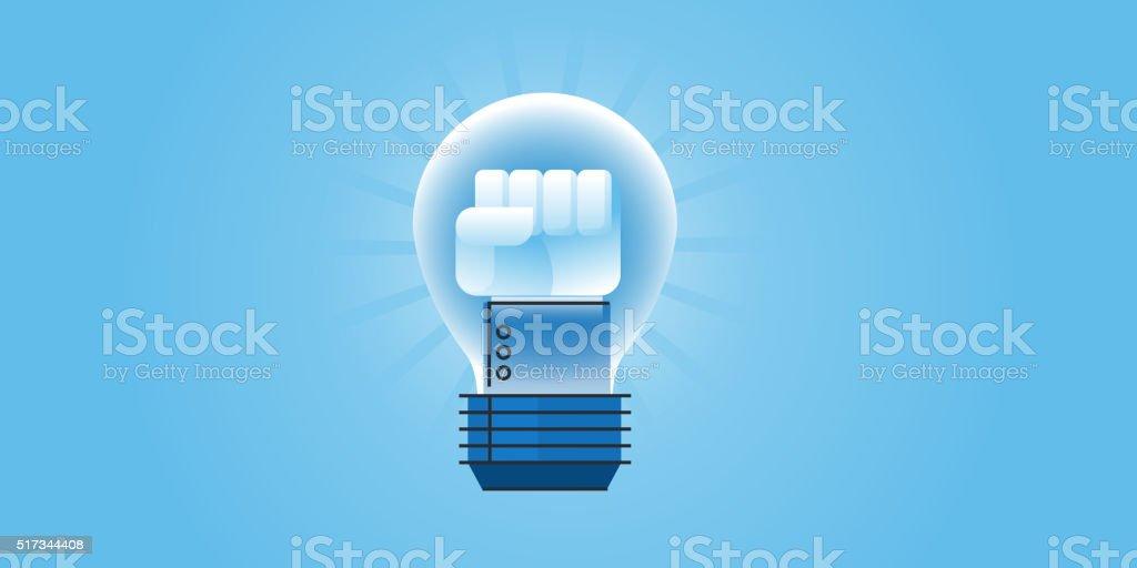 Plano de diseño web grande idea de la bandera illustracion libre de derechos libre de derechos
