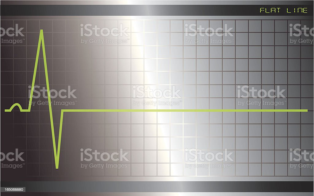 Flat line royalty-free stock vector art