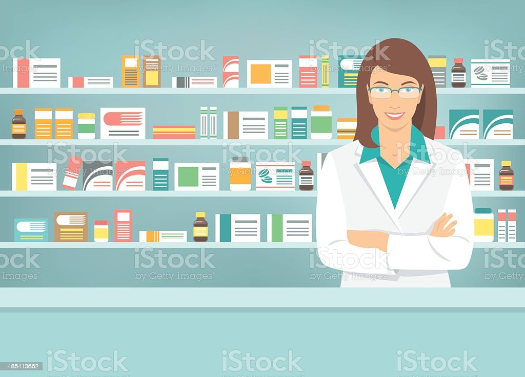 Pharmacy Job Description Clip Art
