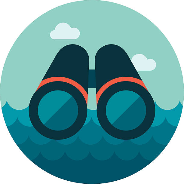 binoculars icon vector - photo #37