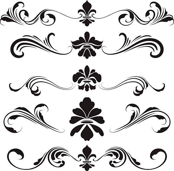fleur de lys clip art vector images illustrations istock. Black Bedroom Furniture Sets. Home Design Ideas