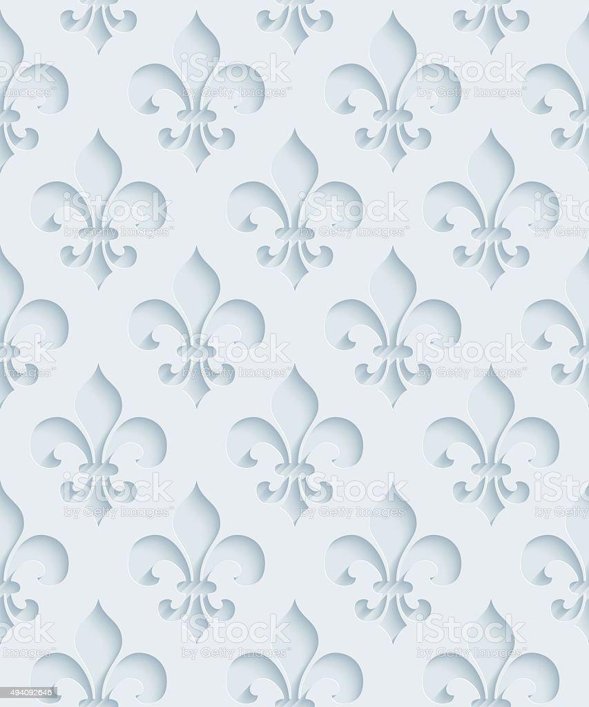 merveilleux papier peint fleur de lys 15 fleur de lys 3d sans couture papier peint motif. Black Bedroom Furniture Sets. Home Design Ideas