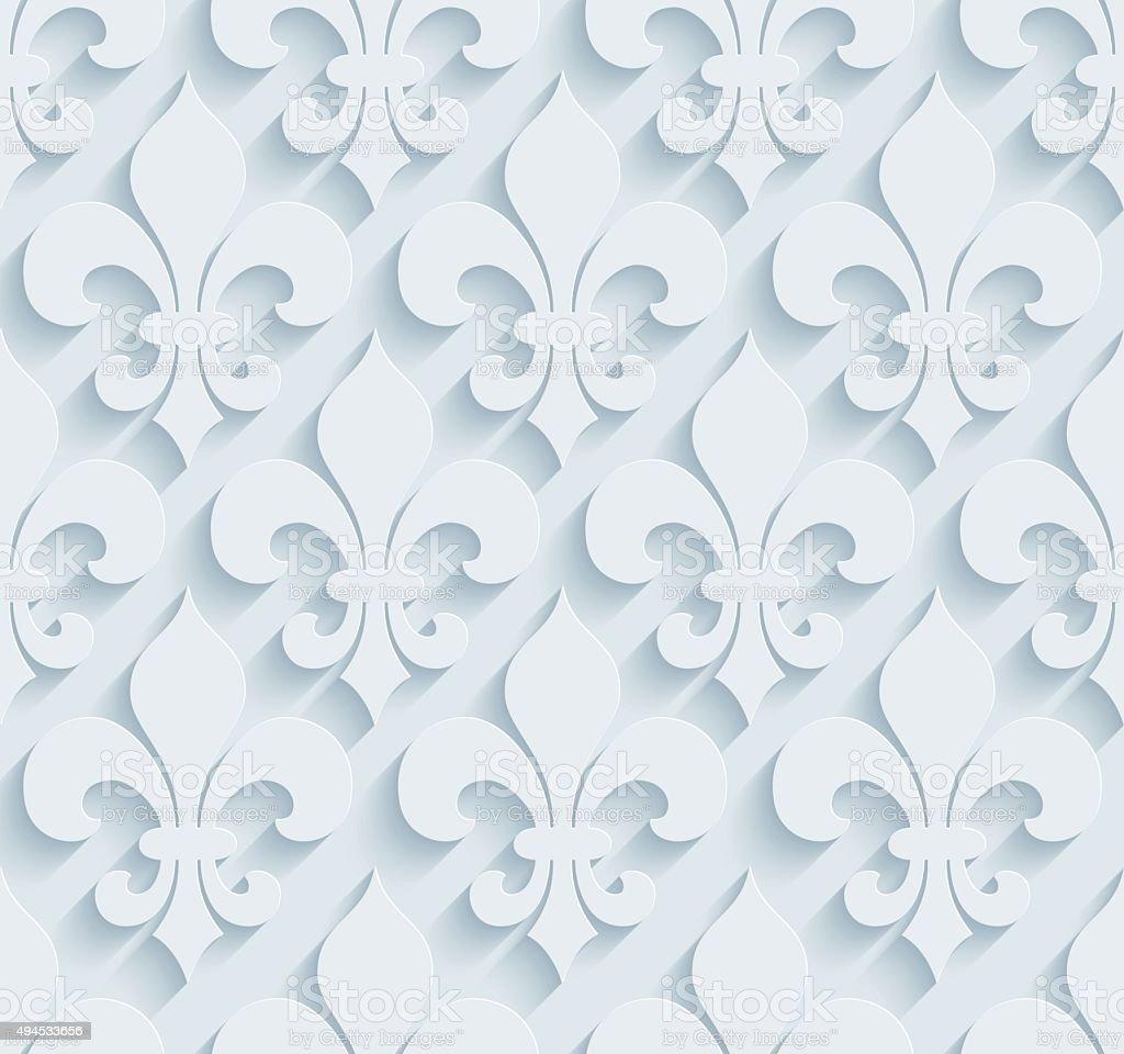 ordinaire papier peint fleur de lys 2 fleur de lys 3d sans couture papier peint motif stock. Black Bedroom Furniture Sets. Home Design Ideas
