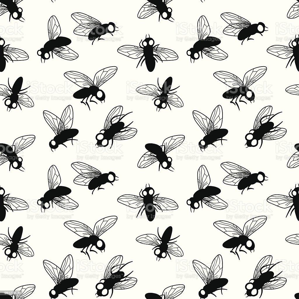 Flies royalty-free stock vector art
