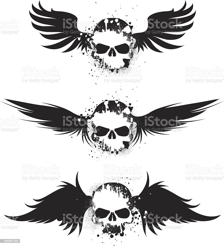 flight of distress royalty-free stock vector art
