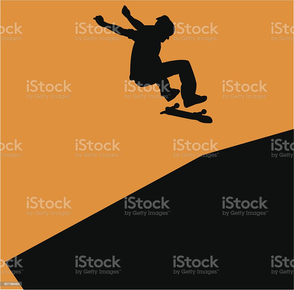 Flip It royalty-free stock vector art