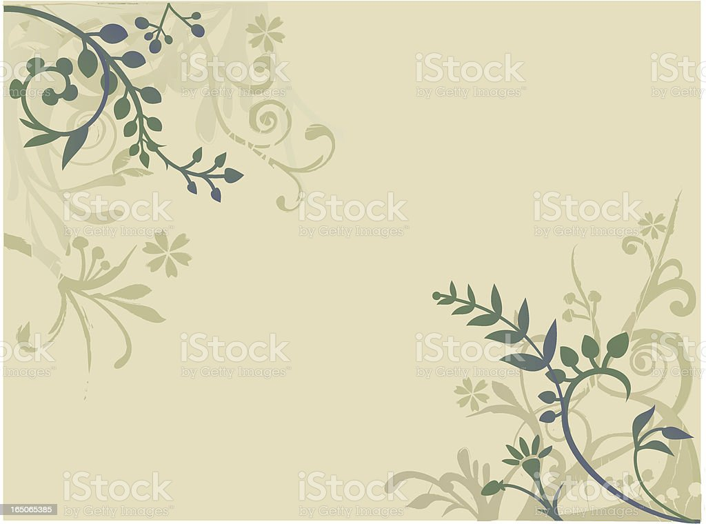 flora background royalty-free stock vector art