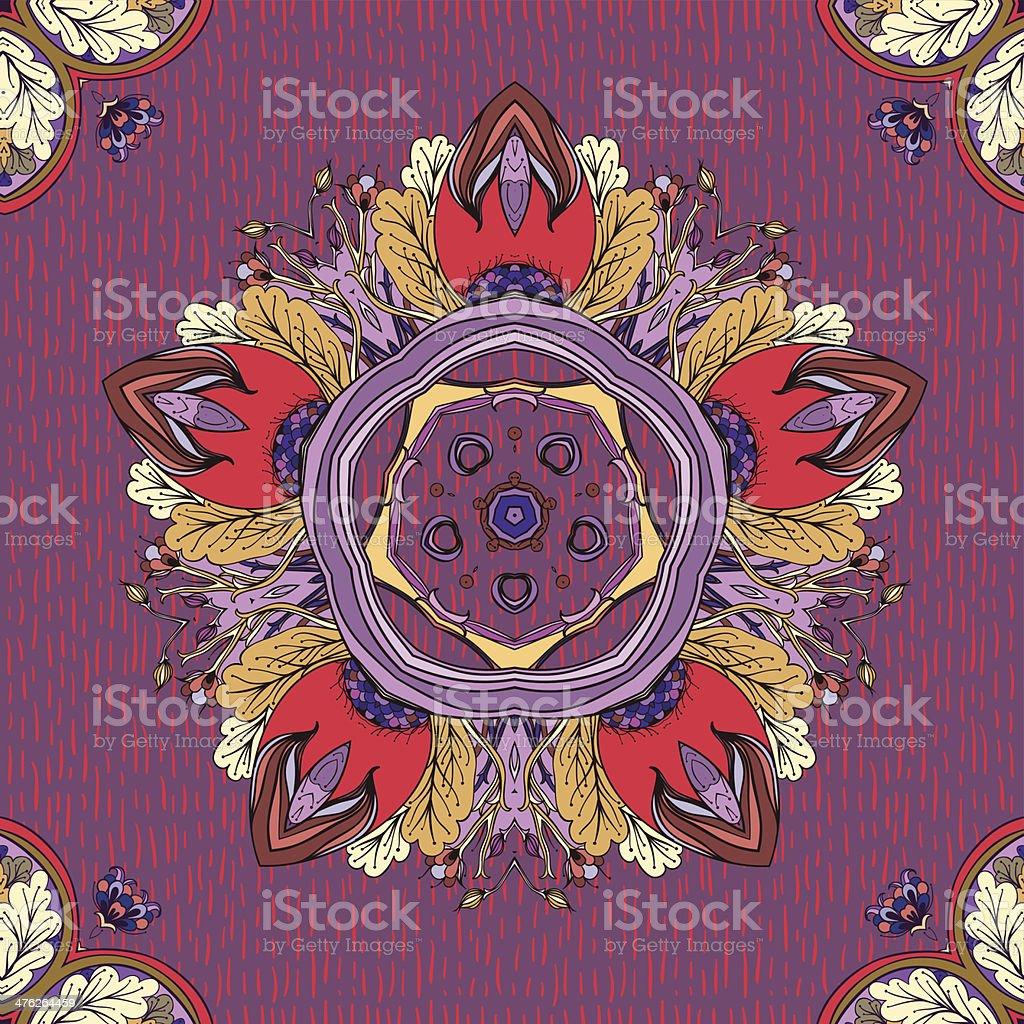 Flora rain royalty-free stock vector art